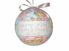 Baby's First Christmas Ornament New Mom Baby by craftcrazy4u, $13.00