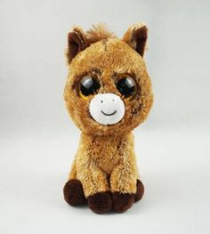 Ty - Beanie Boos Harriet Le cheval 15 cm - Castello | Jeux et Jouets Ty Beanie Boos, Victorine, Ty Toys, Cute Pillows, Plushies, Biscuit, Favorite Things, Christmas Gifts, Teddy Bear