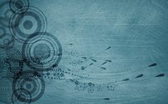 Circles Blue Abstract Background wallpaper