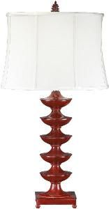 This Asian inspired lamp would bring character to any room.  Product in photo is from www.wellappointedhouse.com