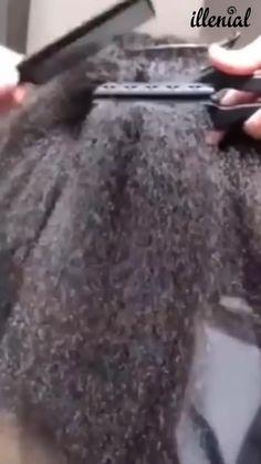 Black Girl Braided Hairstyles, Cute Hairstyles, Straight Hairstyles, Medium Hair Styles, Curly Hair Styles, Natural Hair Styles, Hair Straightening Iron, Pelo Afro, Hair Supplies