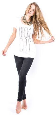 Just purchased this Broke City Scoop Tee by Orly Shani. Super cute and has a statement.