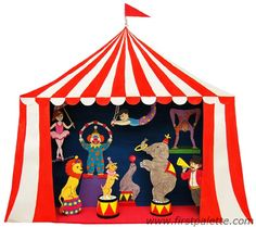 Circus Puppet Theater craft