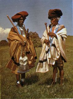 Xhosa men in traditional dress. African Life, African Men, African Culture, African History, African Beauty, African Style, Xhosa Attire, African Royalty, African Tribes