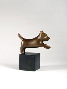 François-Xavier Lalanne, Chien héroïque I (petit), 1987, Bronze, 39 x 33.5 x 16 cm