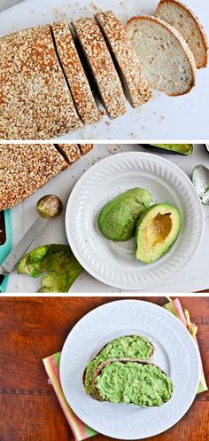 Keep your morning simple and delicious by mashing an avocado onto toast!