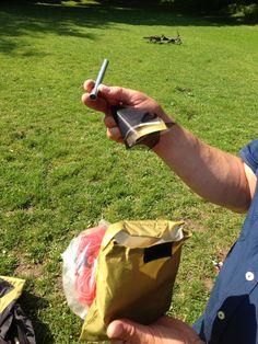Reparaturhülse und/oder Ersatzsegment für das Gestänge: Einfach über die Bruchstelle stülpen. Ein gebrochenes Gestänge macht jedes Zelt unbrauchbar.