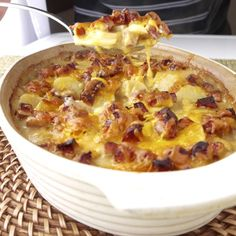 Scalloped Potatoes with Sausage Recipe