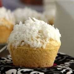 Coconut Cream Muffins