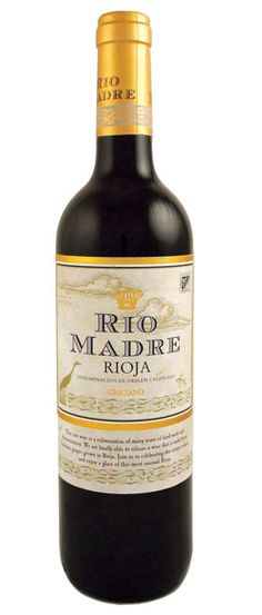 Rio Madre Graciano -Spanish Wine. Juicy plum flavors & touch of cinnamon.