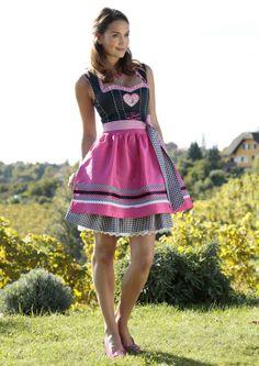 COUNTRY LINE Pinkes Dirndl #Wiesn #Oktoberfest #Trachtenmode | HeidisTrachten.de