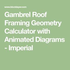 Calculate Gambrel Roof Framing Geometry with Animated Cross Section, Rafter and Gusset Diagrams - Inch Barn Plans, Shed Plans, House Plans, Gambrel Roof Trusses, Deck Foundation, Diy Storage Shed, Shed Doors, Barns Sheds