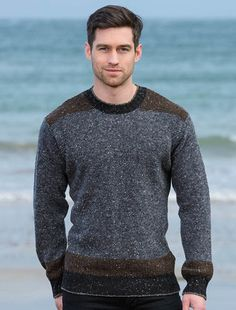 Aran Sweater Market - the home of Irish Aran sweaters. The Aran Sweater, also known as a Fisherman Irish Sweater, the famous original since quality authentic Aran sweater & Irish sweaters from the Aran Islands, Ireland. Sweater Fashion, Boy Fashion, Mens Fashion, Sweater Jacket, Men Sweater, Irish Sweaters, Aran Sweaters, Frugal Male Fashion, Moda Masculina