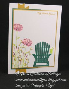 Miriam Castanho-Bollinger, #mstampinwithyou, stampin up, demonstrator, mm, all occasions card, seasonal layers framelits, colorful seasons stamp set, live love grow stamp set, big shot, su