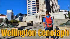 """Wellington Cenotaph, Wellington city The information below is from Wikipedia, """"The Wellington Cenotaph, also known as the Wellington Citizens' War Memorial, . Wellington City, New Staircase, Anzac Day, Water Features, World War Ii, New Zealand, Memories, Travel, Water Sources"""