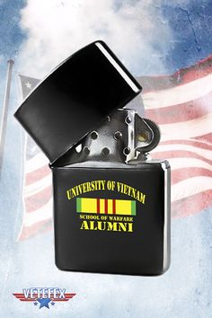 University of Vietnam, School of Warfare ALUMNI Veteran Lighter.