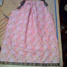 Pillowcase dress for chloe
