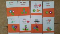 Tarjeta para madres, Mensajes cristianos Mom's Cards, Christian Messages, Handmade