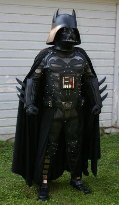 Damn! Darth Man. Bat Vador. Darth Batman. Darth Bat.