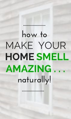 These 7 Genius Smell Hacks are THE BEST! They really are easy and they smell AMAZING! I'm so happy I found this, I know my home is going to smell SO GOOD. So pinning for later!