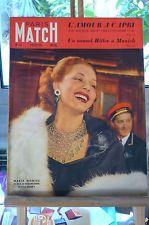 PARIS MATCH N°12 DU 11 JUIN 1949    MARIA MONTEZ chez MAXIM'S -CAPRI-HITLER
