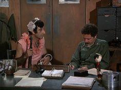 M*A*S*H: Season 2, Episode 3 Radar's Report (29 Sep. 1973)  Allan Arbus , Maj. Milton Freedman , 4077, mash,