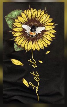 Sunflower Pictures, Sunflower Art, Wallpaper Iphone Cute, Wallpaper S, Meaningful Tattoo Quotes, Sunflower Wallpaper, Bee Art, Cool Art Drawings, Beautiful Bugs