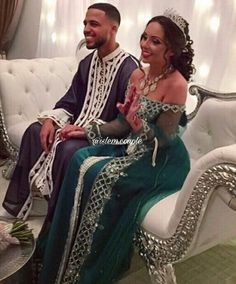 Source by Shaybkl Cute Muslim Couples, Cute Couples, Beautiful Couple, Beautiful Gowns, Arab Wedding, Moroccan Wedding, Moroccan Dress, Engagement Dresses, Wedding Goals