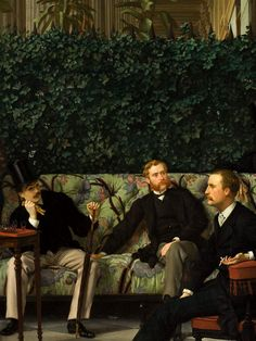"""""""James Tissot, The Circle of the Rue Royale (detail) """""""