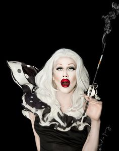 I'm so glad Sharon Needles won RuPaul's Drag Race...you will never see her do a death drop. <3