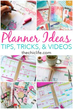 I love using my Erin Condren Life Planner to get crafty and stay organized. Here are my Planner Tips and Ideas to help you get the most out of your planner. To Do Planner, Planner Tips, Planner Layout, Erin Condren Life Planner, Planner Pages, Happy Planner, Free Planner, Notebook Organization, Organization Hacks