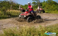 ATV Safari, Ocho Rios, Jamaica  ~ A must do! I did this once but the hubby did it 3 times.