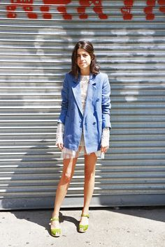 The Leandra way to wear clogs