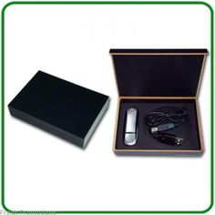 Executive Usb Gift Pack- holds all necessary components in a sleek cigar box. Looks awesome!