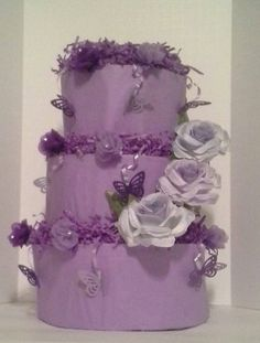 Check out this item in my Etsy shop https://www.etsy.com/listing/219763925/lavender-purple-butterflies-themed-baby