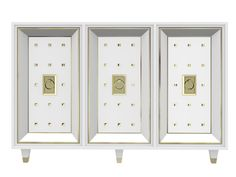 Lacquered Shangri La Chinoiserie Dresser Chest By Dixie