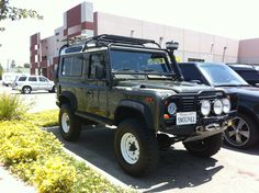 Customers Completely Custom 1997 Defender 90