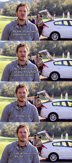 Andy is my fav ever