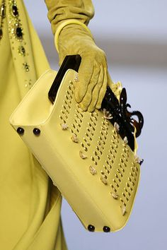 #Christian Dior FALL 2007 RTW #Handbags
