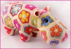 Happypotamus The Happy Hippo Crochet