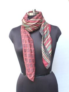 Woolen Scarf / Women's / Men's Scarves / Pure Natural Soft Wool Flax Lightweight Raw Genuine / Fashion Accessories Gifts for Her/ Him Woolen Scarves, Wool Scarf, Men's Scarves, Sari Fabric, Retro Fashion, Womens Fashion, Art Silk Sarees, Vintage Wool, Beautiful Outfits