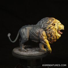 Kd, Kingdom Death, Lion Knight