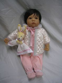 Zapf Creation Vinyl and cloth DOLL Designed by Rolanda Heimer 2000