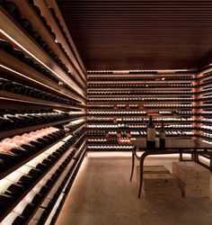 Wine Cellar l São Paulo, Brazil  Ipês House  STUDIO MK27 - MARCIO KOGAN