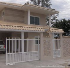 Modern Bungalow House, Modern House Design, Studio Type Apartment, Iron Gate Design, Mexico House, Facade House, Little Houses, Minimalist Home, My Dream Home