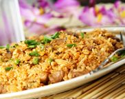 Classic Thai Chicken Fried Rice... I made this tonight and it was JUST LIKE fried rice you would get at a restaurant!