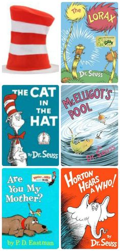 Awesome list of resources that celebrate Dr. Seuss -- books, events and activities for kids!