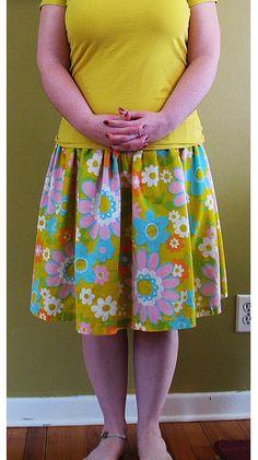 Spring Sewing ~ Skirt Tutorials | Sew,Mama,Sew! Blog |