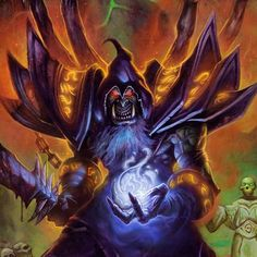 To all the Warcraft lire experts out there who would you like to see as an alternative Warlock hero? #Hearthstone #WorldofWarcraft