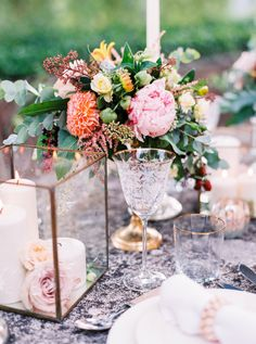 Elegant + colorful Provence wedding table decor: http://www.stylemepretty.com/2015/11/13/authentic-provence-wedding-inspiration/ | Photography: Le Secret d'Audrey - lesecretdaudrey.com